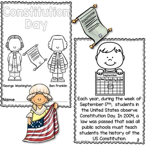 19 Best Images About Constitution Day On Pinterest  Mini Books, First Grade Reading And Activities