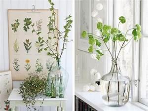 Dame Jeanne Deco : bouteilles bocaux flacons recycl s en vases pour votre d co ~ Teatrodelosmanantiales.com Idées de Décoration