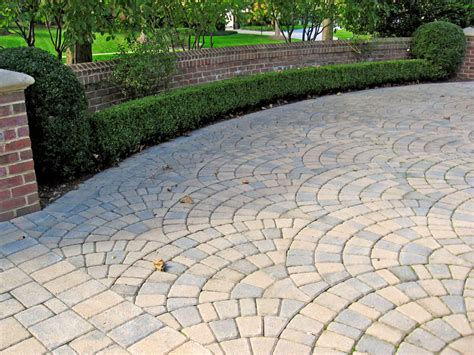 paving patterns for driveways driveway installation portfolio sisson landscapes