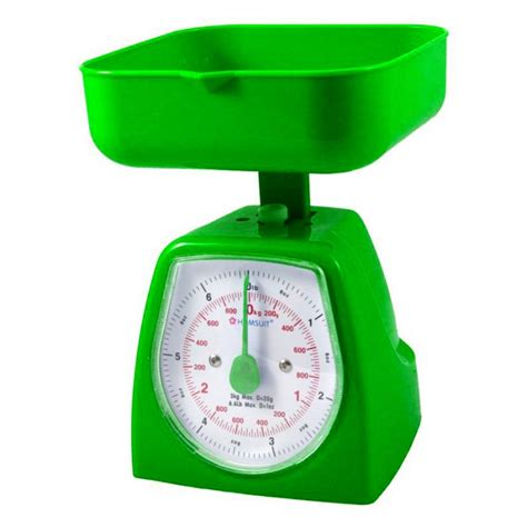 green kitchen scales homsuit kitchen scale square 3kg green 1431