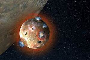 Jupiter's Volcanic Moon Io Has a Collapsible Atmosphere