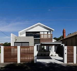 Moderne Wanddeko Aus Holz : moderne inneneinrichtung aus holz in einem open house in australien ~ Bigdaddyawards.com Haus und Dekorationen