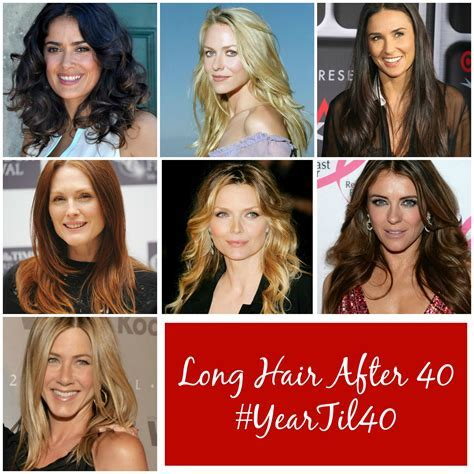 Should Women Over 40 Have Long Hair? #YearTil40