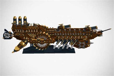 custom lego steunk battleship really should be an