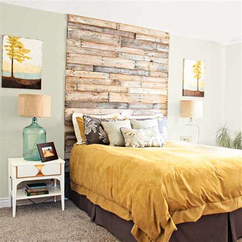 diy headboard projects decorating  small space