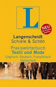 Italienisch Rechnung : langenscheidt praxisw rterbuch textil und mode englisch deutsch franz sisch italienisch buch ~ Themetempest.com Abrechnung