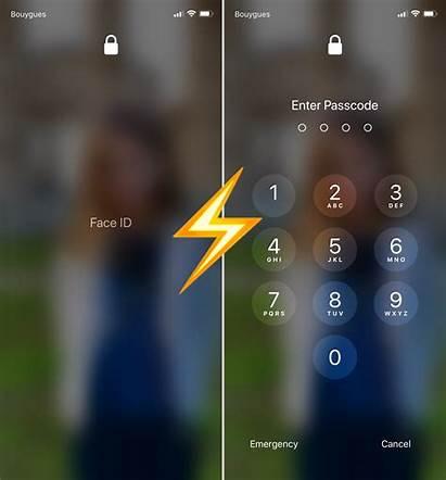 Keypad Iphone Passcode Unlock Unlocked Quickly Face