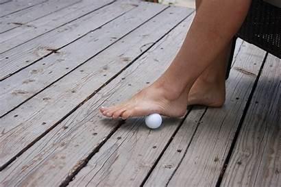 Exercise Feet Foot Feeling Achy Ball Golf