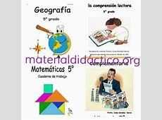 Cuadernos de trabajo quinto grado ciclo escolar 20152016