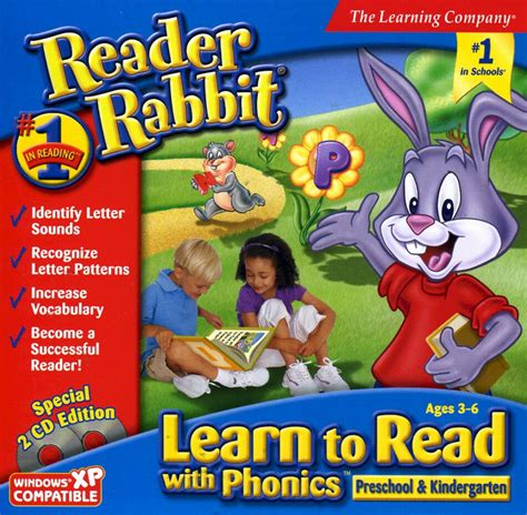 reader rabbit learn to read with phonics preschool 992 | s l1000