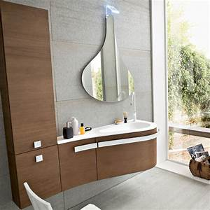 Meuble Salle De Bain Noyer : meuble de salle de bain birex versa compo 5 ~ Melissatoandfro.com Idées de Décoration