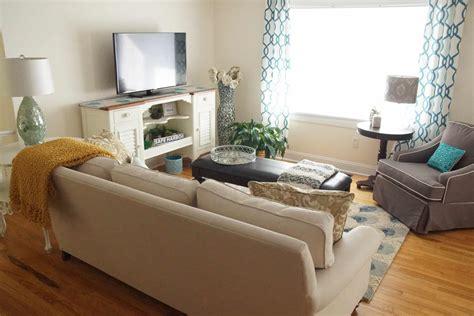 Living Room Makeover by Glam Coastal Living Room Makeover Heartwork Organizing