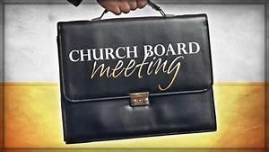 Church Board Meeting – New Life Church Web Site