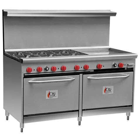 commercial cuisine cooking performance 60 cpgv 6b 24g s26 6 burner gas