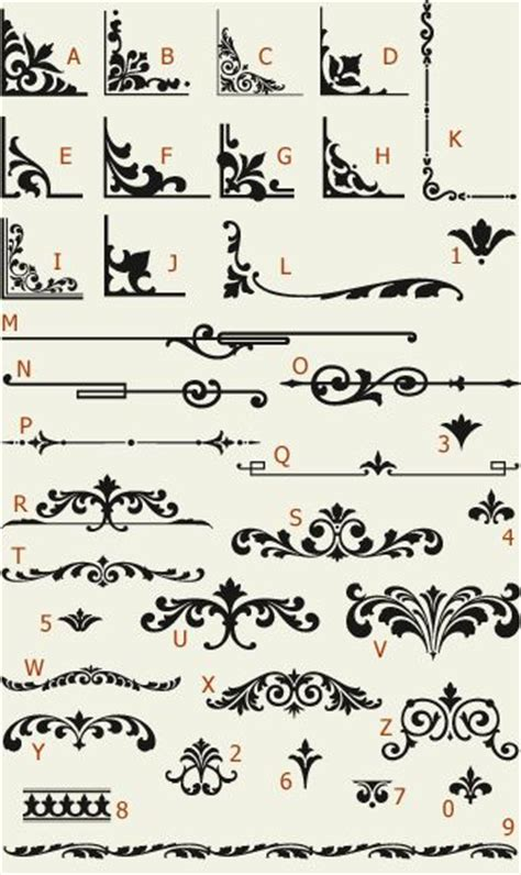 Font Decoration Letterhead Fonts Lhf Main Street Ornaments Golden Era