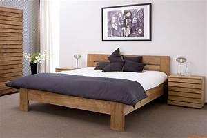 Lit Double Bois : lit double bois lit double solde vasp ~ Premium-room.com Idées de Décoration