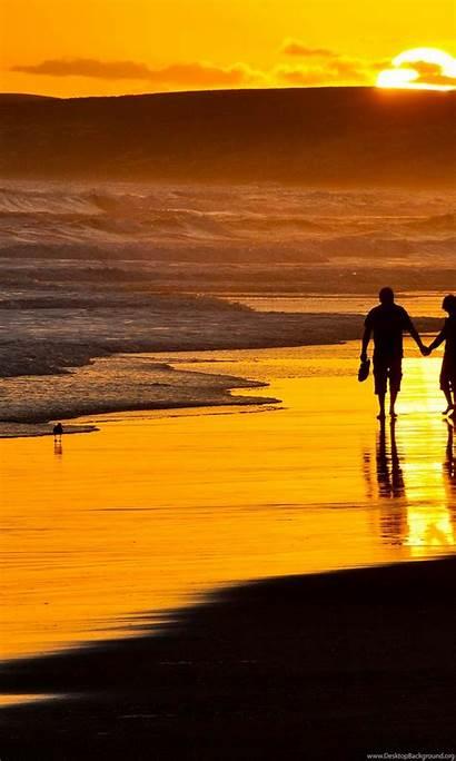 Romantic Sunset Beach Wallpapers Windows Desktop Background