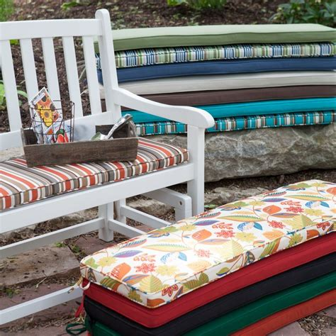 coral coast 53 x 14 outdoor cushion for porch swings and