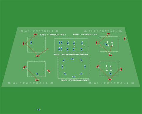 Seduta Di Allenamento Calcio Seduta Di Allenamento Nella Categoria 16 Con Focus