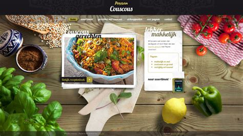 50 Mouthwatering Food Photography Examples In Web Design
