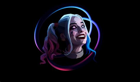 Harley Quinn Background Harley Quinn Abstract Abstract Desktop Wallpapers