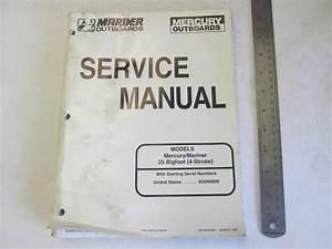1998 Mercury Mariner Outboard Service Manual 25 Bigfoot 4