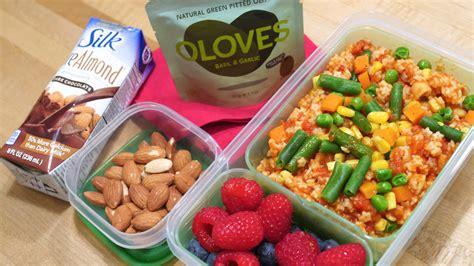 Idea For Kitchen - easy vegan school lunch ideas