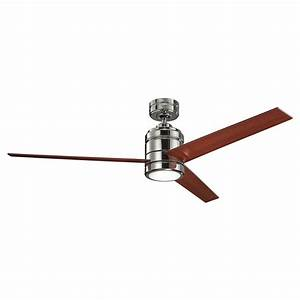 Arkwright blade indoor ceiling fan with remote control