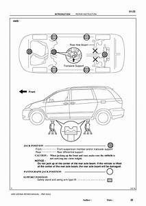 2006 Toyota Sienna Parts Diagram