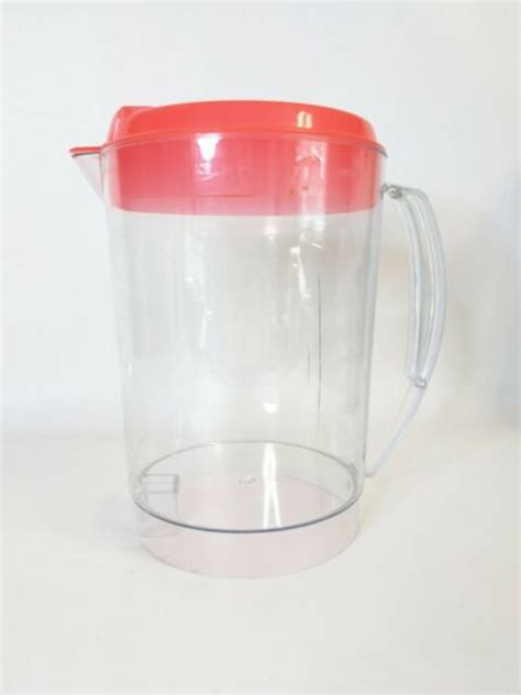 Coffee iced tea replacement pitcher is compatible with tm1 models that have a 2 quart capacity. MR COFFEE TM3 ICE TEA MAKER 3QT REPLACEMENT PITCHER ORIGINAL YELLOW LID for sale online   eBay