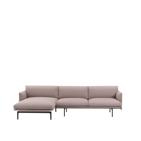 chaise muuto muuto canapé outline sofa chaise longue anderssen voll