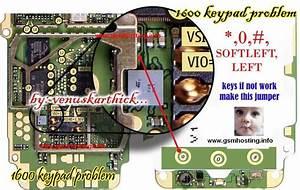 Nokia 1110 Keypad Diagram