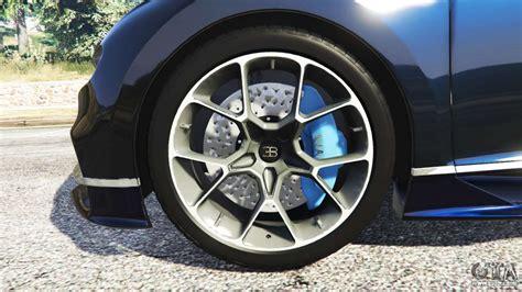 Bugatti Chiron Tires by Bugatti Chiron For Gta 5