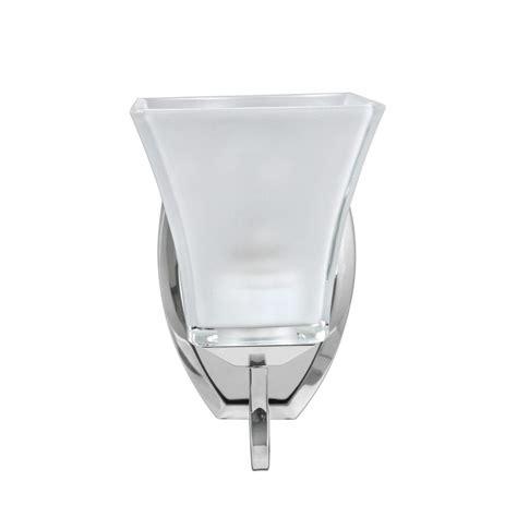 aspen creative corporation 1 light chrome vanity light