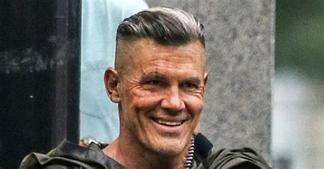josh brolin cable haircut  deadpool