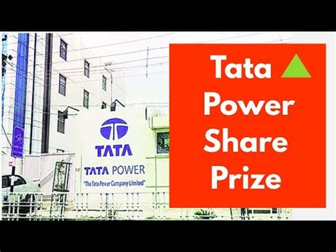 At the current share price of rs 108.25 this results in a dividend. Tata Power Share latest news   tata power Share - YouTube