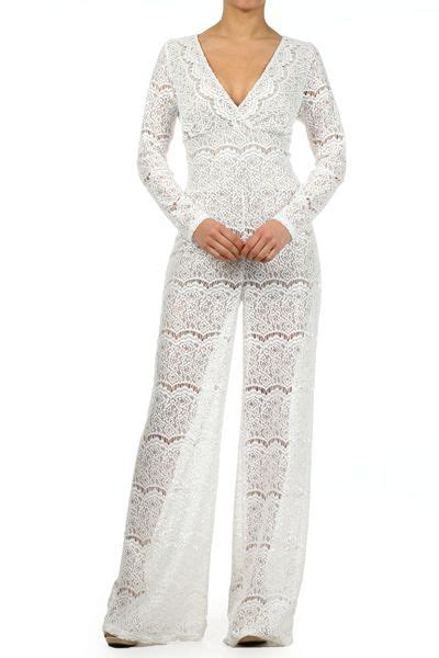 white jumpsuit with sleeves white lace jumpsuit with sleeves must