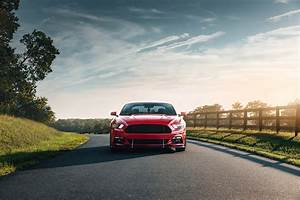 Ford Mustang GT - Red on Behance