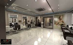 Coiffure Salon Design By Onur Yurttas At
