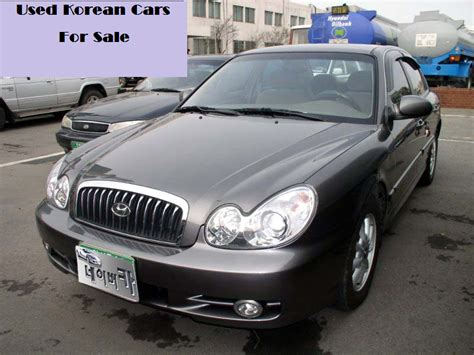 Used Korean Cars For Sale