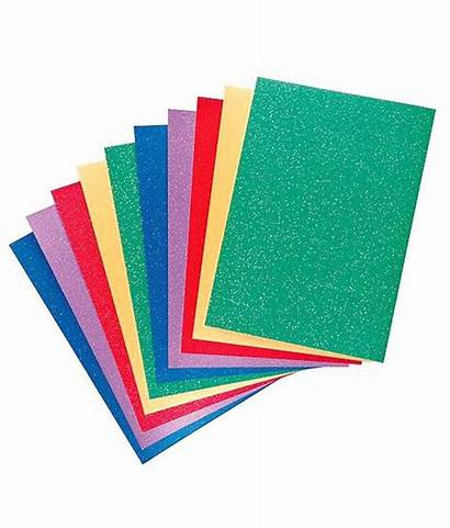 Glitter Paper A4 Adhesive Sheets Self Pack