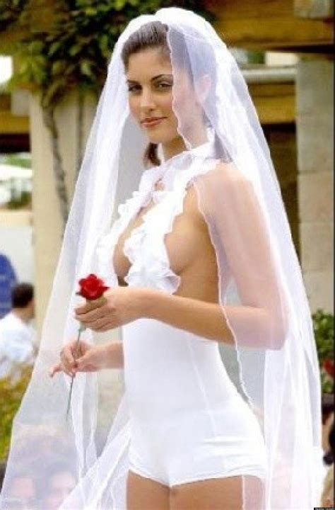 Inappropriate Wedding Dresses Say I Do To Way Too Much