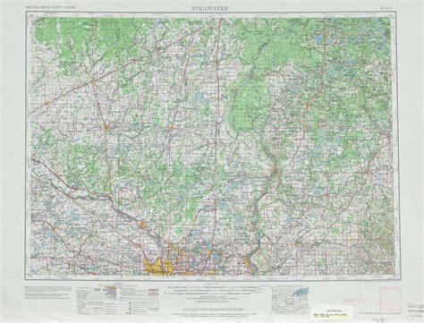 stillwater topographic maps mn wi usgs topo quad