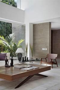 Deco Chambre Bois : 40 id es en photos comment incorporer l 39 ambiance zen ~ Melissatoandfro.com Idées de Décoration
