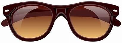 Sunglasses Clipart Glasses Brown Cat Eye Sun
