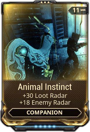 animal instinct warframe wiki fandom powered  wikia