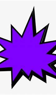 Purple Comic Pow Clip Art At Clkercom Vector Online ...
