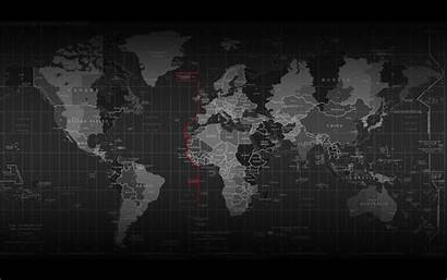Technology Wallpapers Desktop Backgrounds Map Mapa Dark