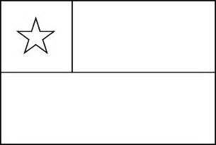 chile flag coloring page coloring home