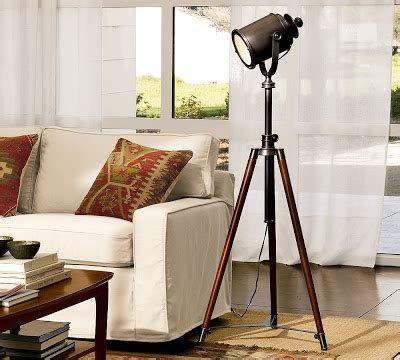 pottery barn tripod l pottery barn photographer s tripod floor l copy cat chic